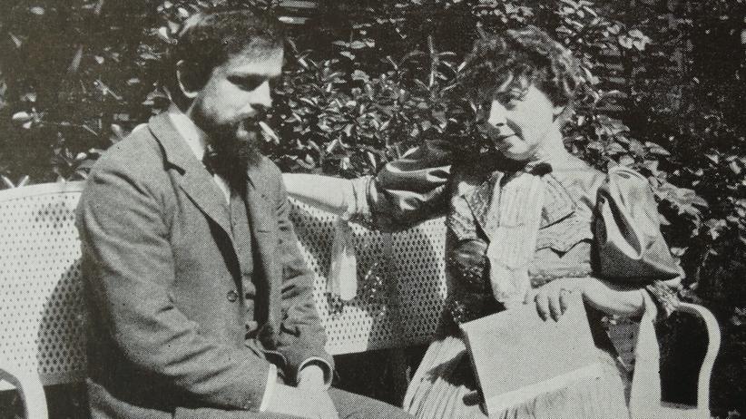 Claude Debussy: Ehekrise: Der französische Komponist Claude Debussy und seine zweite Frau Emma Bardac.
