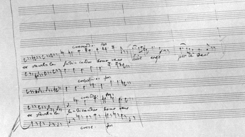 """""""Requiem"""": Die letzten Noten, die Mozart auf Papier setzte"""