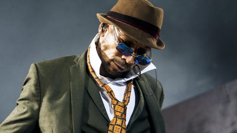 Demba Nabé: Demba Nabé bei einem Auftritt von Seeed 2013 in der Wuhlheide