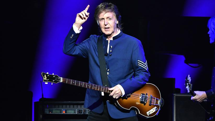 Paul McCartney: In beigen Socken