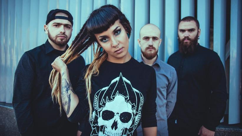 Heavy Metal: Tatiana Shmailyuk und ihre Kollegen von der ukrainischen Metalcore-Band Jinjer