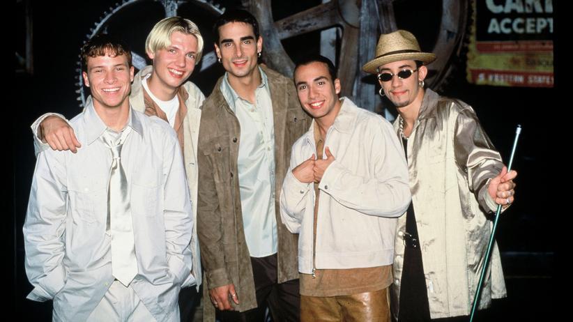 Backstreet Boys: Süß und und sexuell unaufdringlich: die jungen Backstreet Boys.