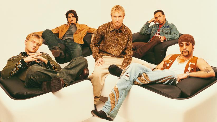 Backstreet Boys: Die Fünf im Jahr 2001: Sahen Häkelmützen und Paisley-Hemden je besser aus?