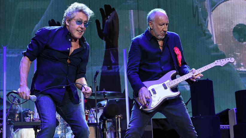 """My Generation"": Roger Daltrey (links) und Pete Townshend von The Who 2016 im Konzert"