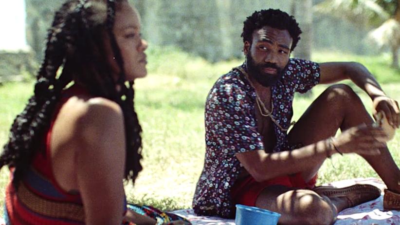 """Guava Island"": Rihanna und Donald Glover im Film ""Guava Island"""