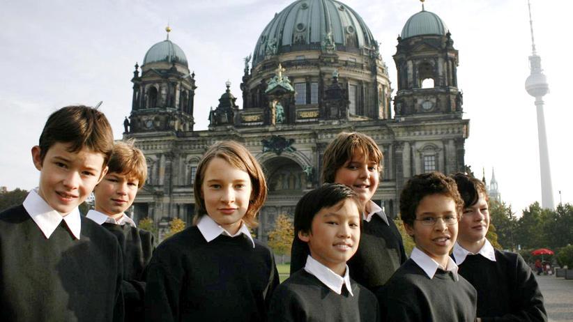 Knabenchor: Monokultur bringt immer Probleme mit sich: Mitglieder des Staats- und Domchores Berlin