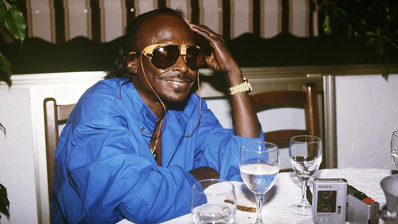 """""""Rubberband"""": Miles Davis im Juli 1985 in Nizza. Drei Monate später, im Oktober 1985, begann er in Los Angeles mit den Aufnahmen für """"Rubberband""""."""