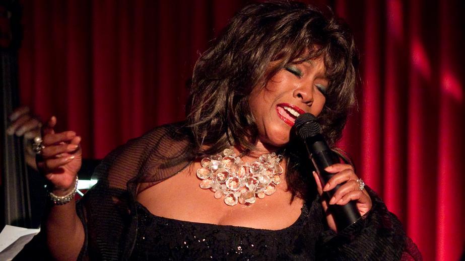 The Supremes: Mary Wilson bei einem Konzert im Jahr 2010