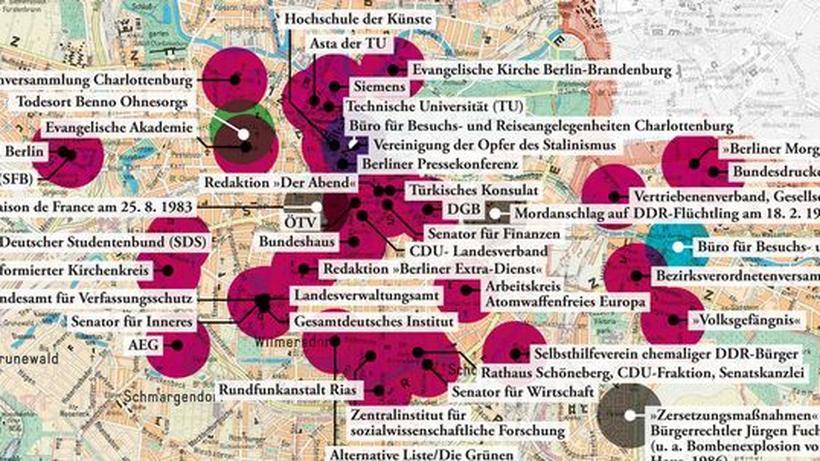 West Berlin Karte.West Berlin Stadt Der Spione Zeit Online