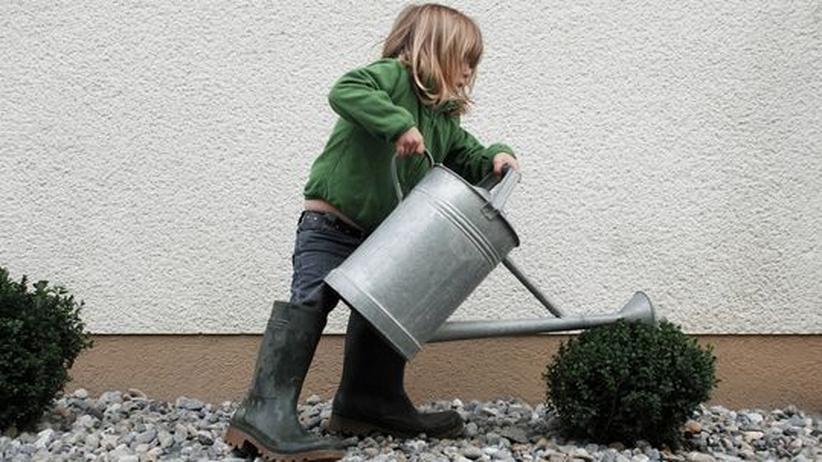 Gärtnern: Kinder fangen schon früh an, die Natur zu entdecken - auf spielerische Weise