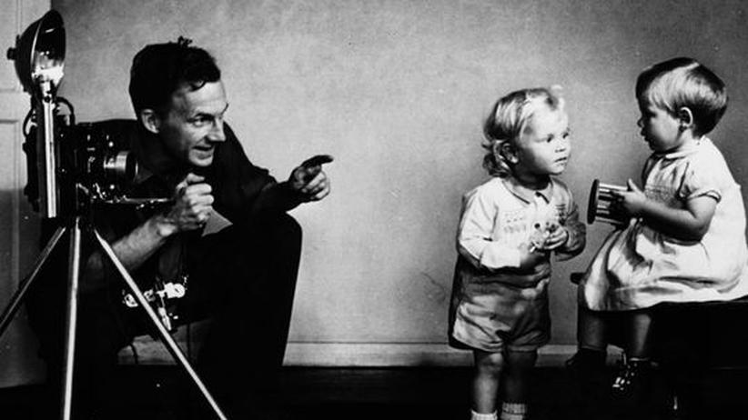 Fotograf mit Kindern