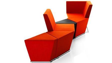 Büromöbelmesse: Ein Büro wie ein Wohnzimmer   ZEIT ONLINE