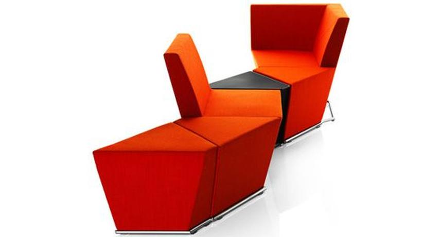 Büromöbelmesse: Ein Büro wie ein Wohnzimmer