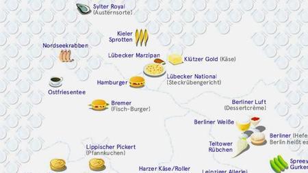 Deutschlandkarte Essen Nach Orten Benannt Zeit Online