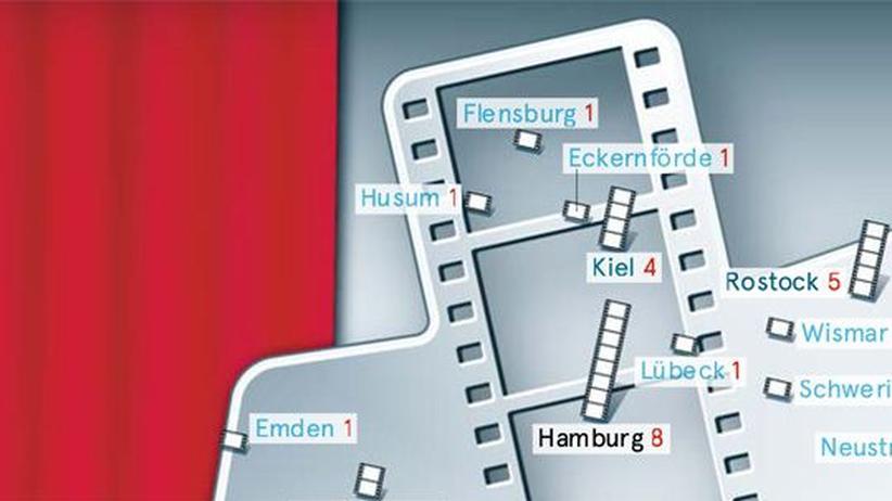 Deutschlandkarte: Filmfeste
