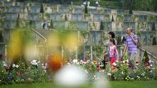 Der Park von Sanssouci in Potsdam wurde nach dem Vorbild englischer Landschaftsgärten gestaltet.