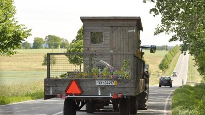 Mobile Gärten: Jäten und ernten auf dem Pick-up