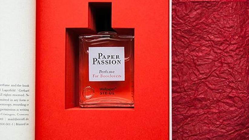 Buch-Parfum: Schatz, du riechst nach Pappkarton
