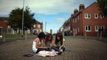 Kinder im englischen Stoke on Trent