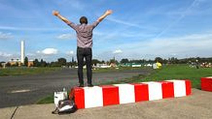 Viel Platz für gute Ideen: Das Tempelhofer Feld, früher Flugfeld des Flughafens Tempelhof