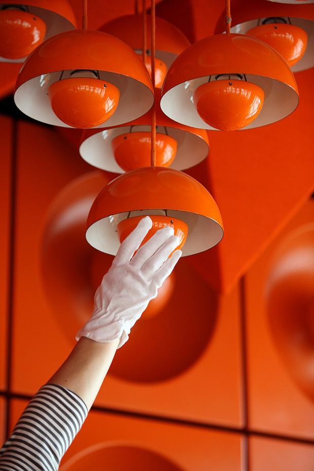 Spiegel kantine mittagessen in einer stilikone zeit for Hamburg spiegel