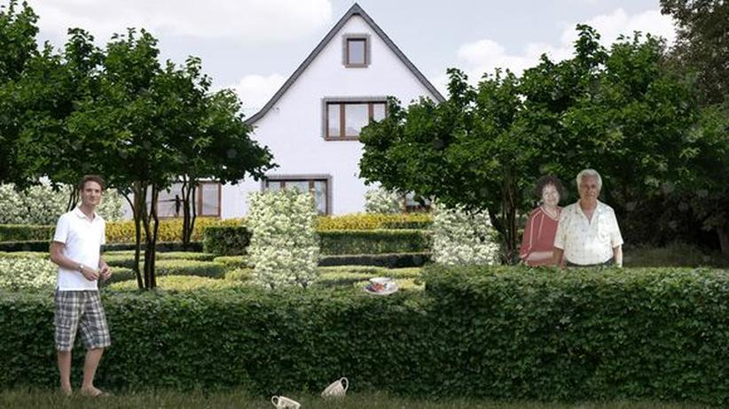 Gartenkultur: Um die Entwürfe für dieses typisch deutsche Gartengrundstück zu sehen, klicken Sie auf das Bild.