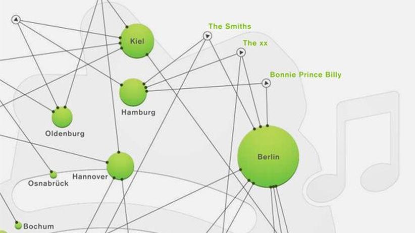 Serie Deutschlandkarte: Klicken Sie auf das Bild, um die Karte zu vergrößern