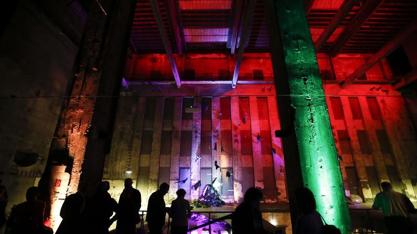 Berlin-Hype: Zuschauer einer Probe des Staatsballetts Berlin im Berghain