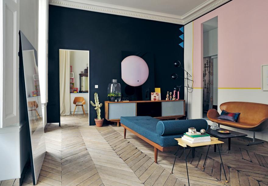 4/11 Wohnung In Paris, Bewohnt Und Gestaltet Von Jean Christophe Aumas ©  Helenio Barbetta Und Didier Delmas