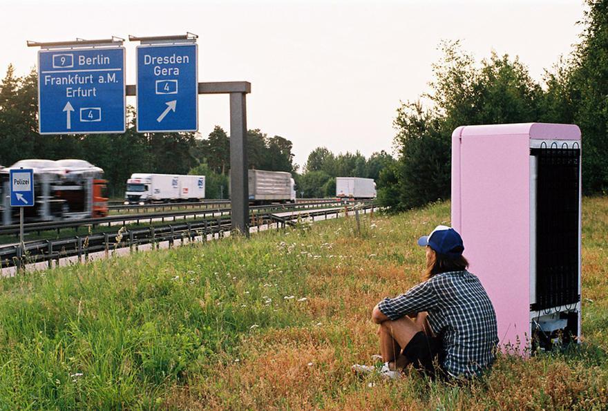 Smeg Kühlschrank Nach Transport : Foto reportage der kühlschrank ist ein tramp zeit online