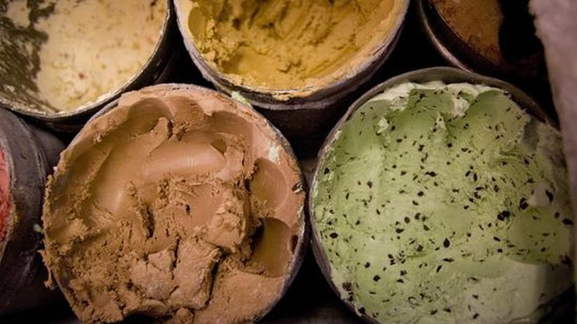 Eismesse: Basilikumeis, Biereis (mit Guinness!), Eis aus Prosecco oder Gewürztraminer: Es lässt sich praktisch alles machen, auch wenn die ersten aller Sorten, Vanille und Schokolade, immer noch die gefragtesten sind