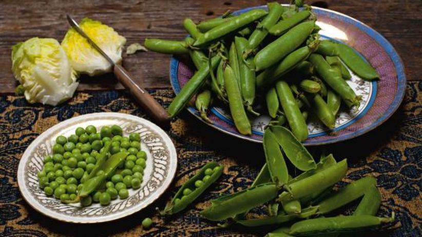 Wochenmarkt: In der französischen Küche seit Ludwig XIV. geschätzt: Die frisch geerntete Erbse