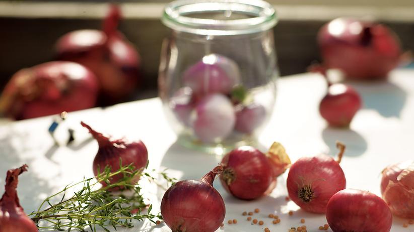 Wochenmarkt: Jetzt Zwiebeln einmachen