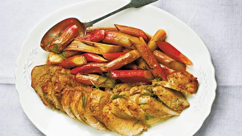 Wochenmarkt: Fleisch braucht Gemüse, Gemüse braucht Fleisch: Ein Rezept