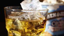 Eiscreme mit Whiskey