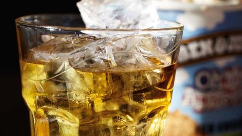Eiscreme mit Whisky: Nachts um eins