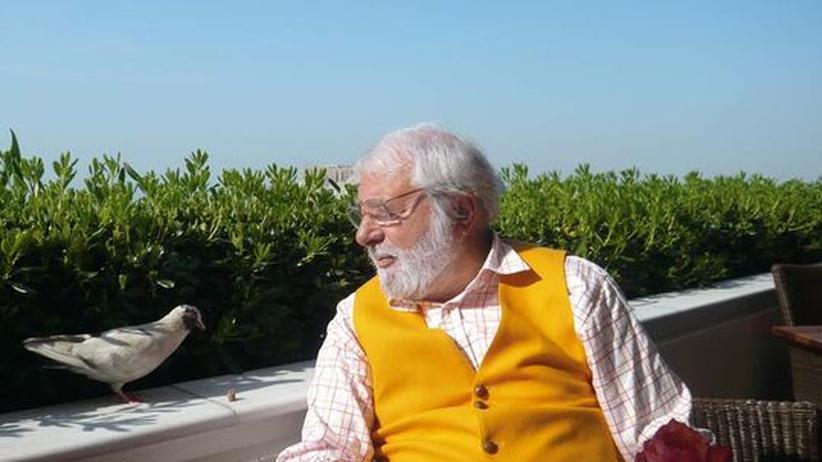 Wolfram Siebeck: Gourmetkritiker Wolfram Siebeck in Griechenland