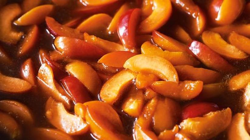 Wochenmarkt: Aprikosen