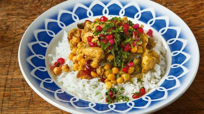 Wochenmarkt: Schönes Kompliment: Der Granatapfel im Hühnereintopf