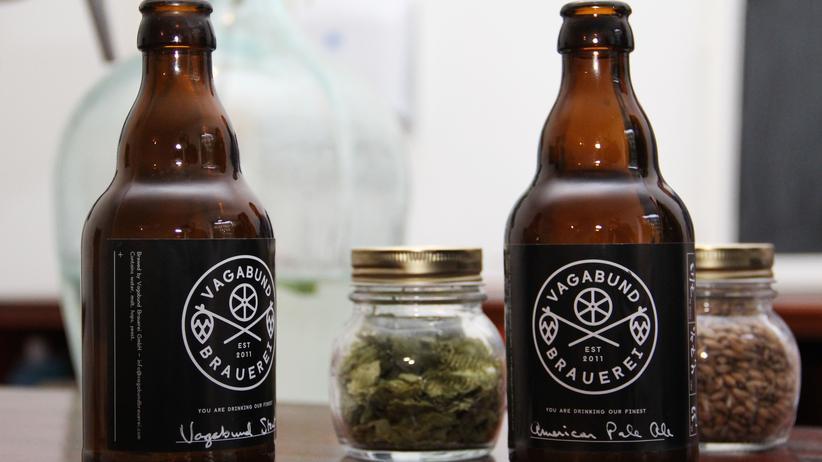 Vagabund Brauerei: Die ersten Flaschen der neuen Berliner Vagabund Brauerei