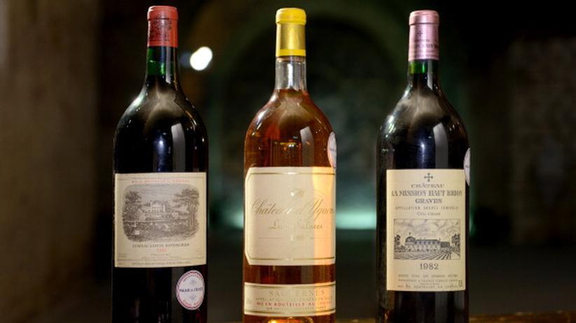 Weinauktionen: Aus dem Keller des Élyséepalasts