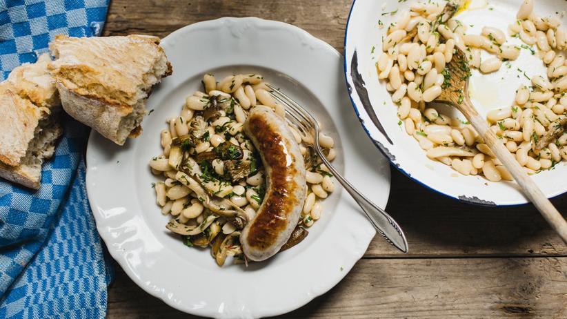 Wochenmarkt: Statt fasten – Wurst und Bohnen