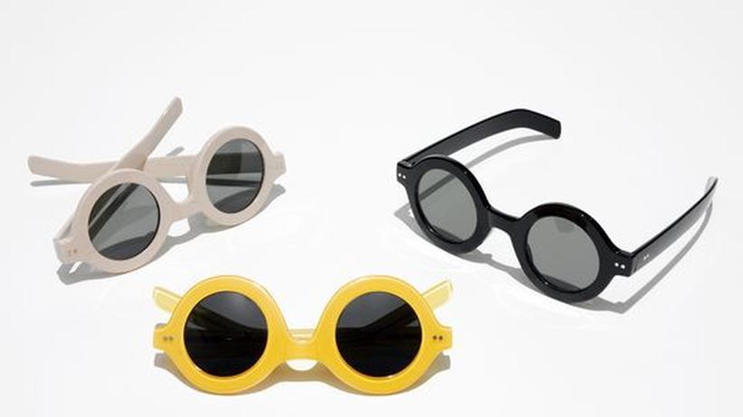 Die neuen Sonnenbrillen: Rund und rebellisch