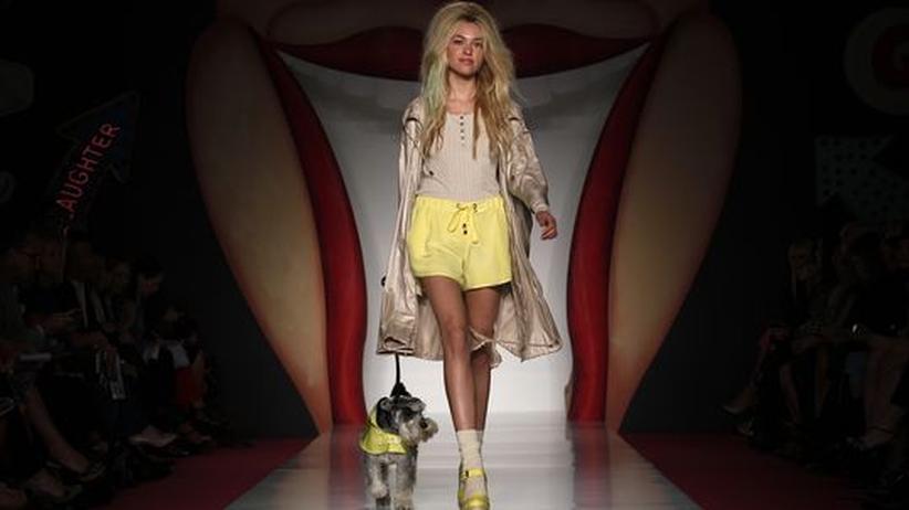 London Fashion Week: Die Zukunft leuchtet Pastell