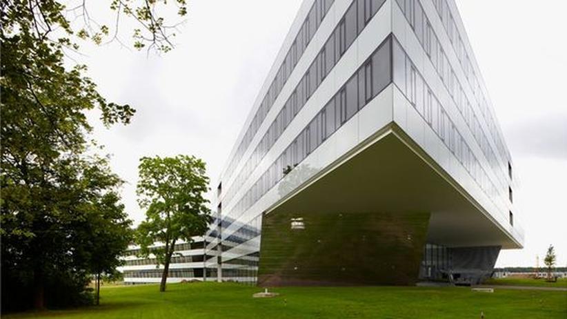 Außenansicht des Adidas Firmengebäudes
