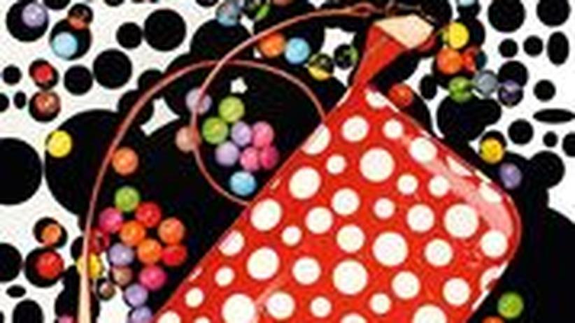 Stilkolumne: Handtasche aus der Yayoi-Kusama-Kollektion von Louis Vuitton, 860 Euro