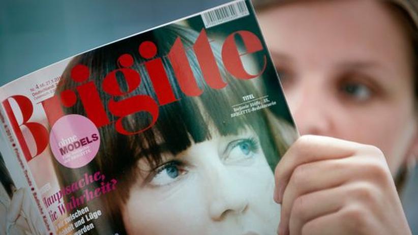 """Frauenzeitschrift: Durchschnittsmodels sind in der """"Brigitte"""" nicht mehr gefragt."""