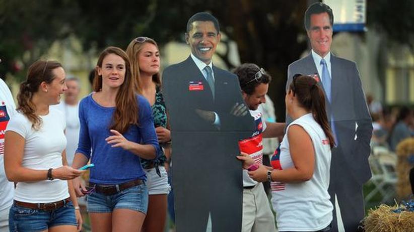 US-Wahlkampf: Undogmatisch bis in die Krawattenspitze