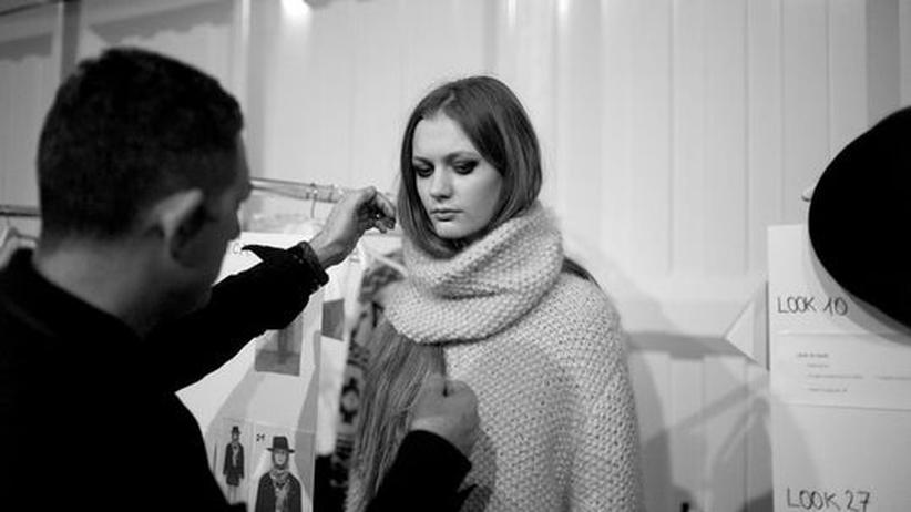 Berlin Fashion Week: Backstage bei der Schau von Lala Berlin
