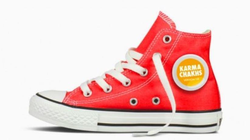 Urheberrecht: Der Karma Chakh soll unter fairen Arbeitsbedingungen in Pakistan und Indien hergestellt werden.